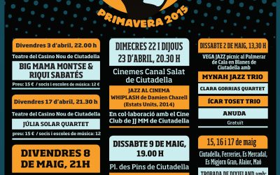 Moby Dixie al Jazzobert Menorca 2015
