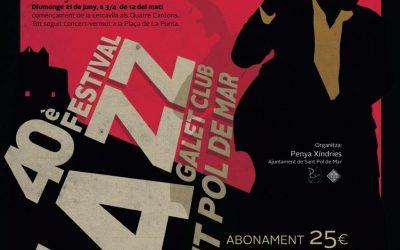 Moby Dixie al 40è Festival de Jazz Galet Club de Sant Pol de Mar
