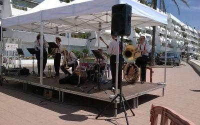 Imatges de Moby Dixie al Festival de Jazz Galet Club de Sant Pol de Mar